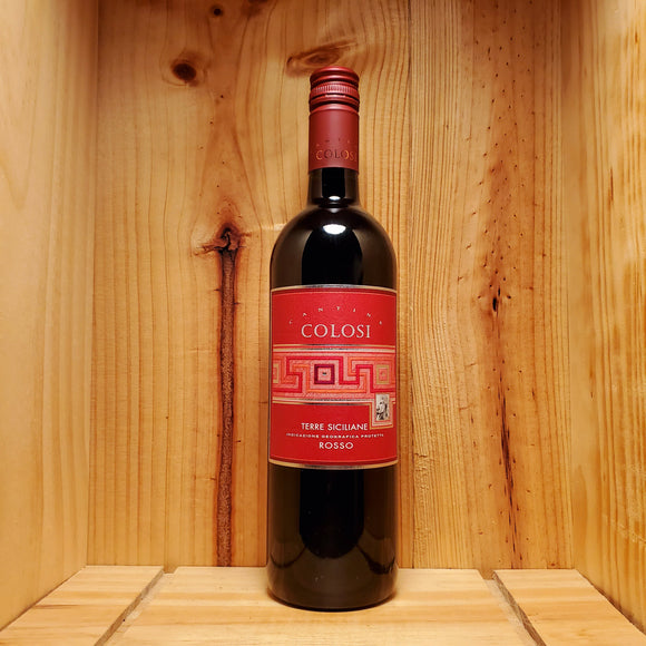 Cantine Colosi Rosso - Sicily, Italy - Blend 750ml