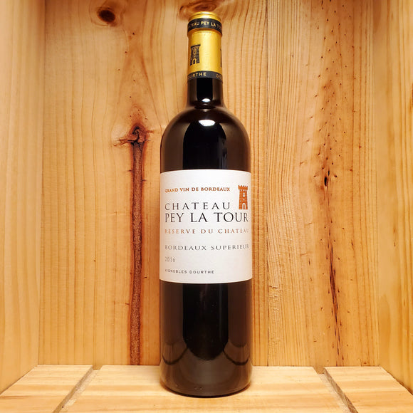 Chateau Pey La Tour Reserve 2016 - Bordeaux, France - Blend 750ml