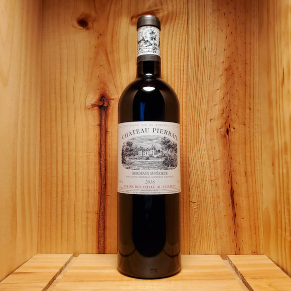 Chateau Pierrail Bordeaux Superieur - Bordeaux, France - Blend 750ml
