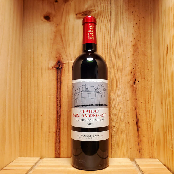 Chateau Saint Andre Corbin 2017 - Bordeaux, France - Blend