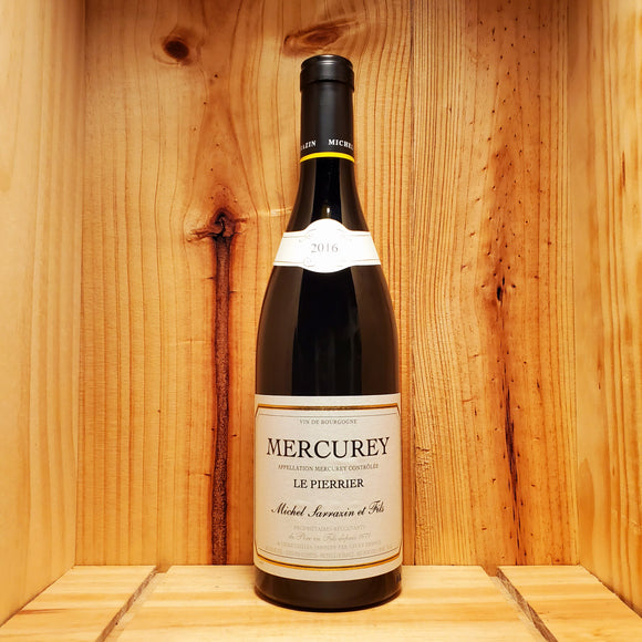 Domaine Michel Sarrazin Mercurey 2016 - Burgundy, France - Pinot Noir 750ml