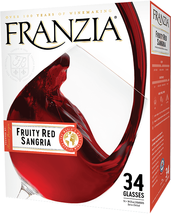 Franzia Red Sangria - California, United States - Blend 5L