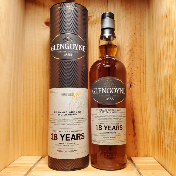 Glengoyne 18 year 750ml
