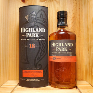 Highland Park 18 year 750ml