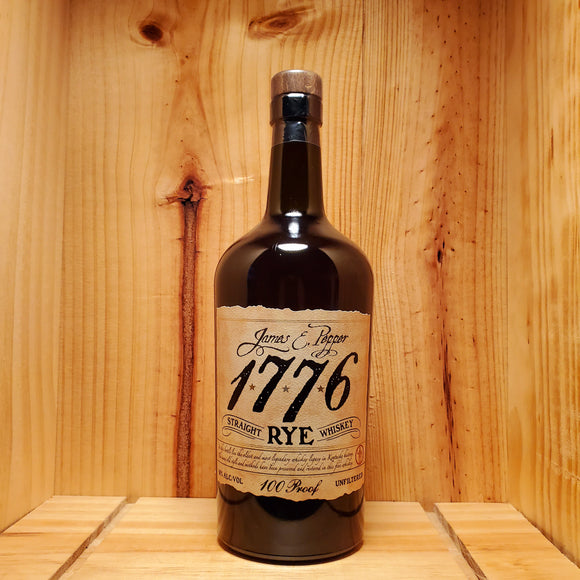 James E. Pepper 1776 Rye 100