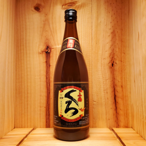 Kozuru Kuro Potato Shochu - Japan 750ml