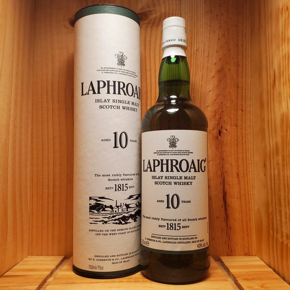 Laphroaig 10 year 750ml