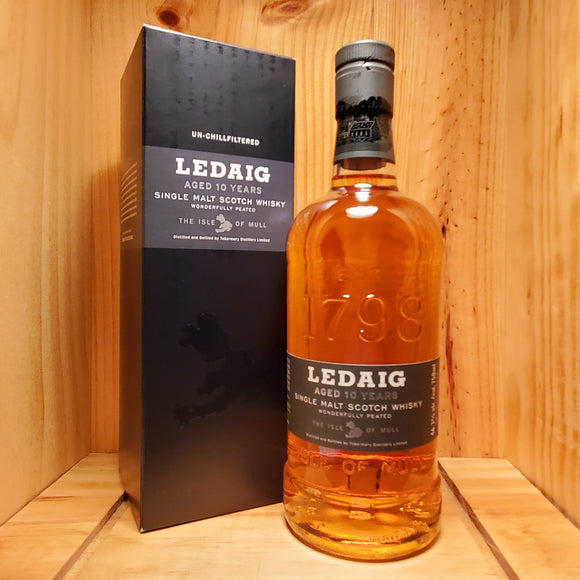 Ledaig 10 year 750ml