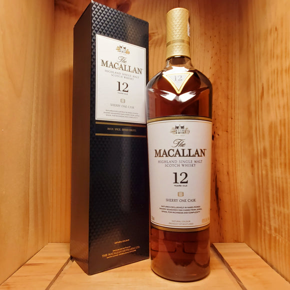 Macallan 12 year 750ml