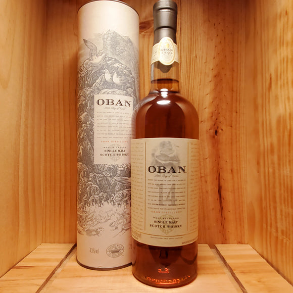 Oban 14 year 750ml