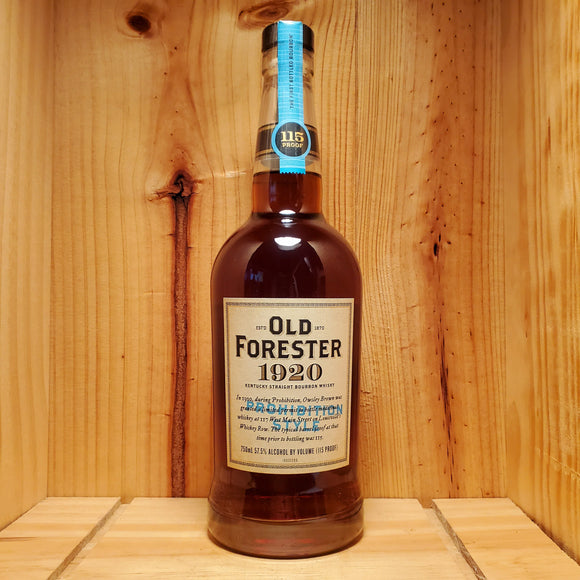 Old Forester 1920 Prohibition Style 750ml 57.5%