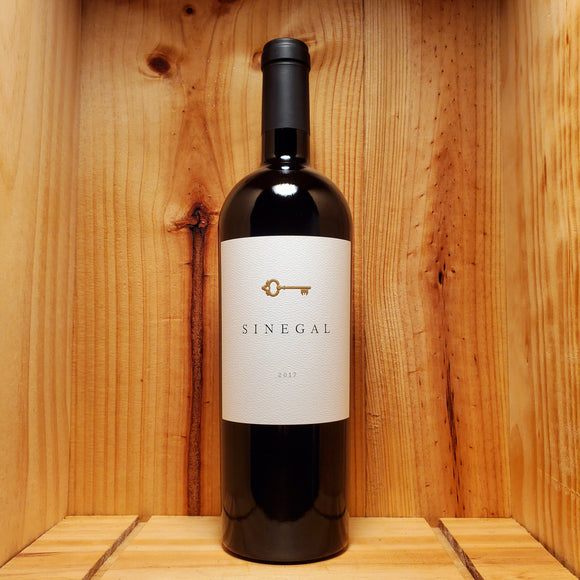 Sinegal Estate 2017 - California, United States - Cabernet Sauvignon 750ml