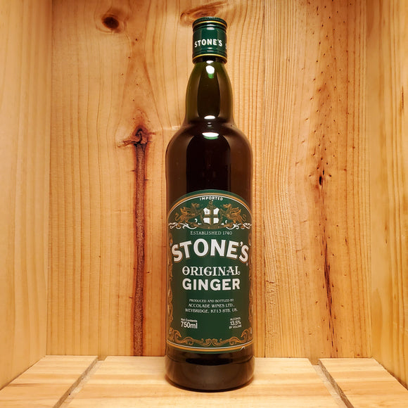 Stone's Original Green Ginger Wine - England 750ml