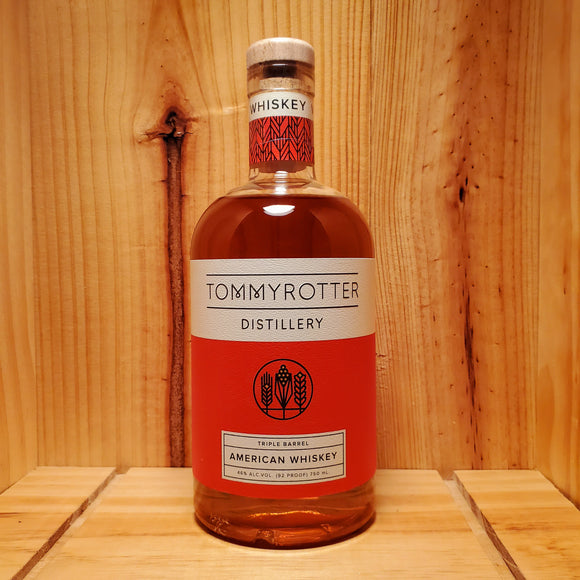 Tommyrotter Triple Barrel American Whiskey 750ml