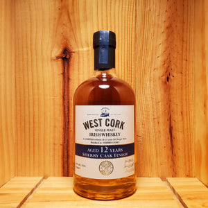 West Cork 12 Years Sherry Cask Finish 750ml
