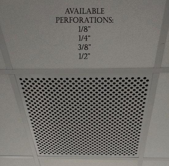 Plastic Perforated Tiles & Returns