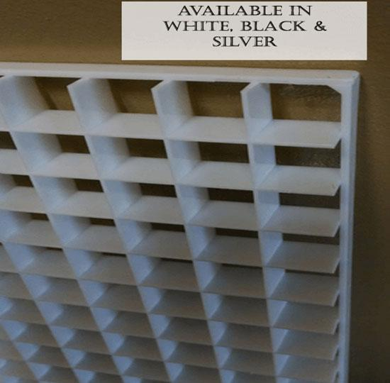 Plastic Egg Crate Louvers