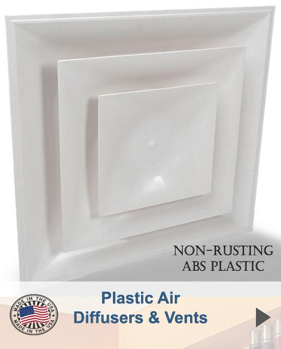 Plastic Air Diffusers & Vents