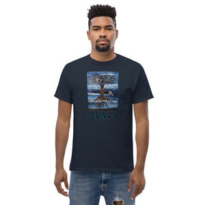 Apparel Men's size (unisex) heavyweight tee: PLACE