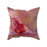Throw Pillow-Dancing to the Tune of Your Own Drummer