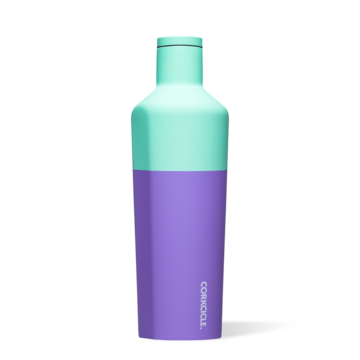 25 oz Canteen in Mint Berry Colorblock by Corkcicle