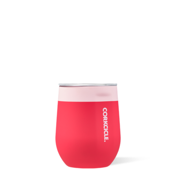 Stemless Wine Tumbler in Shortcake Colorblock by Corkcicle