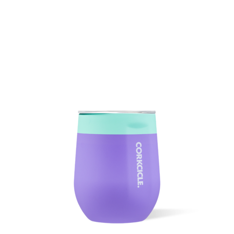 Stemless  Wine Tumbler in Mint Berry by Corkcicle