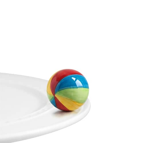 "Beach Ball ""Have a Ball "" Mini by Nora Fleming"