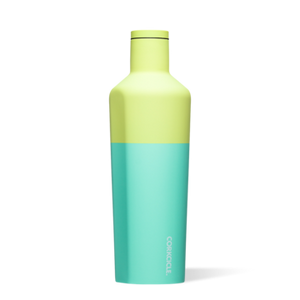 25 oz Canteen in Limeade Colorblock by Corkcicle