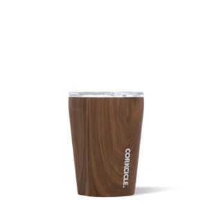 12oz Stemless Tumbler in Walnut by Corkcicle
