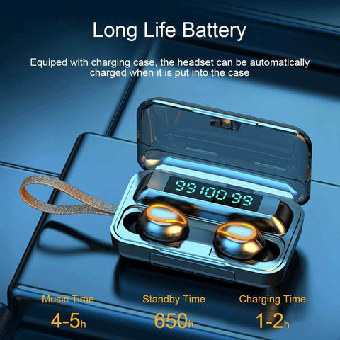 Best earbuds- wireless- Bluetooth- noise cancellation- 4000MAH