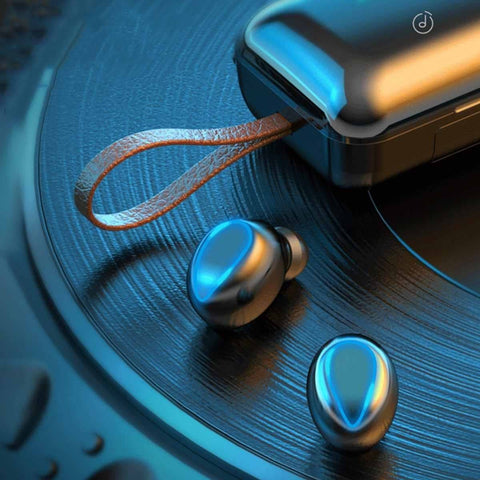 Best Bluetooth Earbuds- Wireless- 4000MAH- Stereo 9D Sound Quality