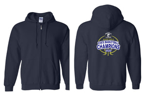 Lakers Girls Basketball Champions Zip-Up