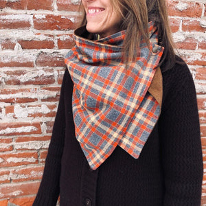Flannel Snap Cowl