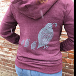 Load image into Gallery viewer, Quail Convoy Zip Hoodie