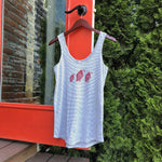 Load image into Gallery viewer, Tres Quail Stripe Tank