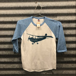 Load image into Gallery viewer, Cessna Baseball Tee Kids