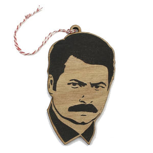 Ron Swanson Ornament