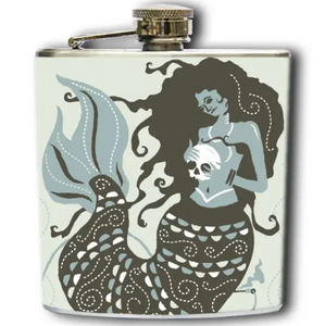 Mermaid Flask