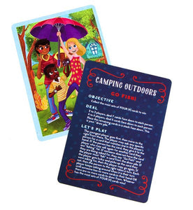 Camp-Out Go Fish Playing Cards