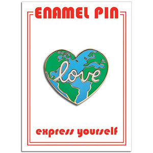 Earth Love Pin