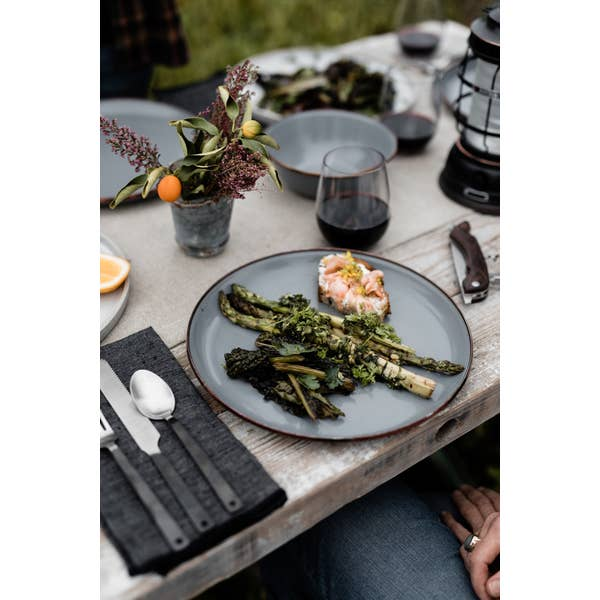 Barebones Enamel Plates (Set of 2)
