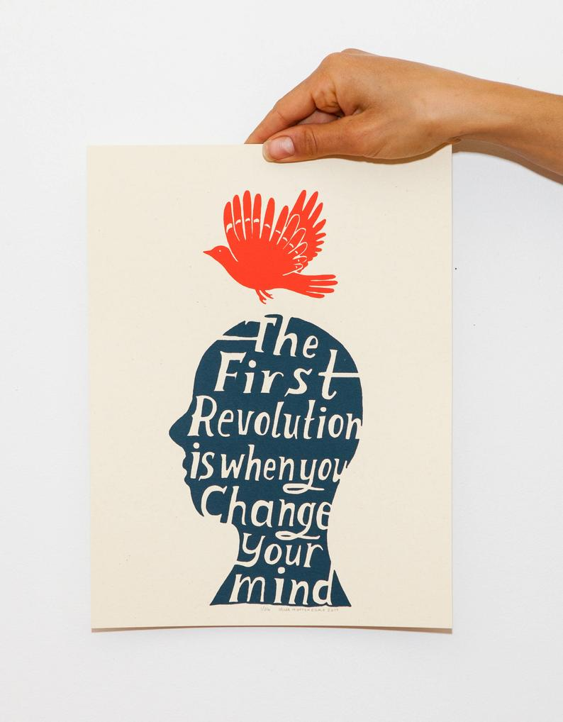 """The First Revolution"" Print"