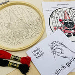 Load image into Gallery viewer, Gnomework Embroidery Kit