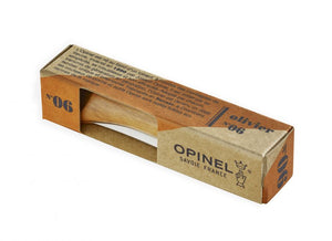No.06 Olivewood Opinel Pocket Knife