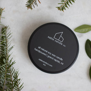 Pine + Scotch Travel Candle