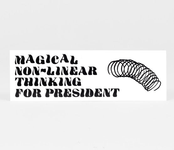 Slinky for President Sticker
