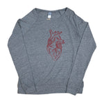 Load image into Gallery viewer, Big Heart Scoop Pullover