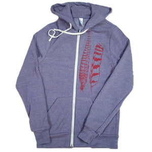 Light as a Feather Zip Hoodie