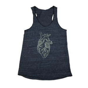 Big Heart Racerback Tank